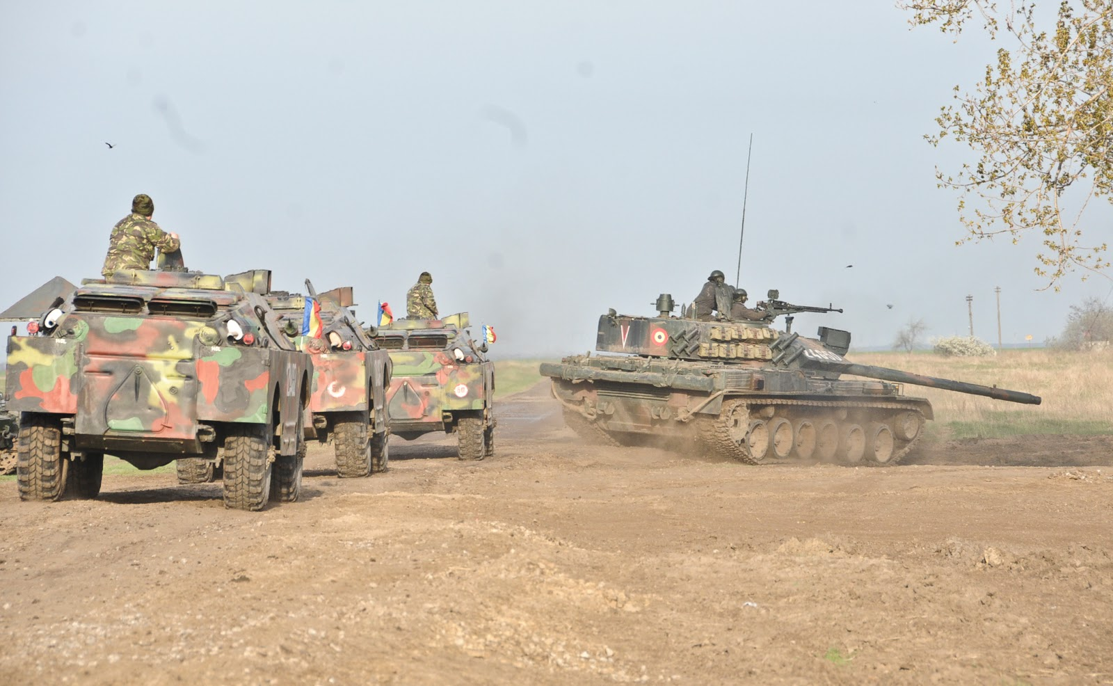 SNAFU!: Romanian Armored Forces training with the US Army's 2nd Cav...