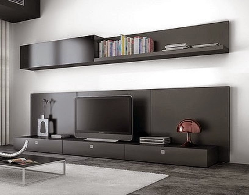 Cym amoblamientos racks modernos for Muebles para living