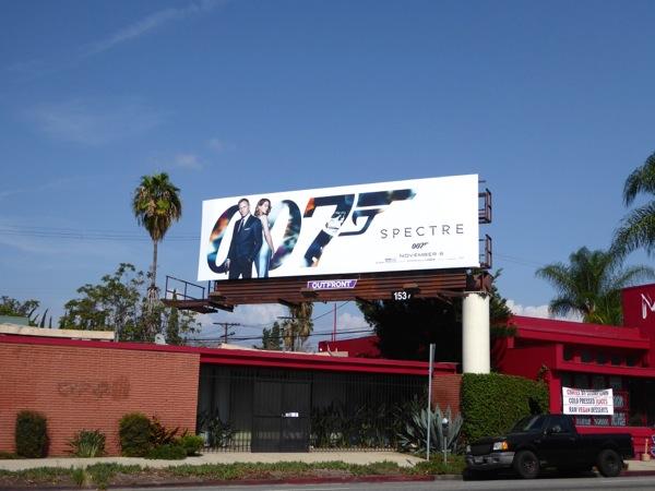 Spectre 007 billboard