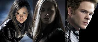 Vampira (Anna Paquin), Kitty Pride (Ellen Page) e Homem de Gelo (Shawn Ashmore).