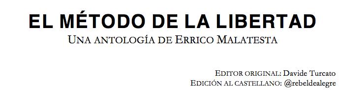 EL MÉTODO DE LA LIBERTAD