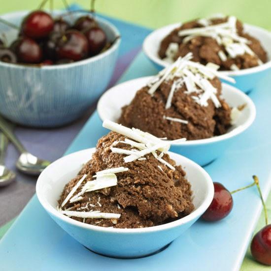 Ice Creams, Sorbets and Gelatos: Dark chocolate granita