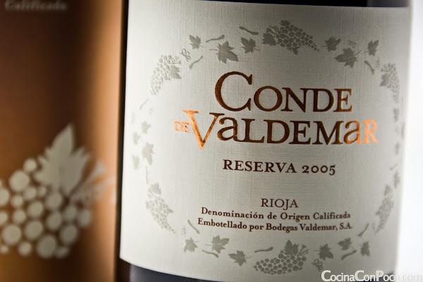 Conde de Valdemar Reserva 2005 - Bodegas Valdemar