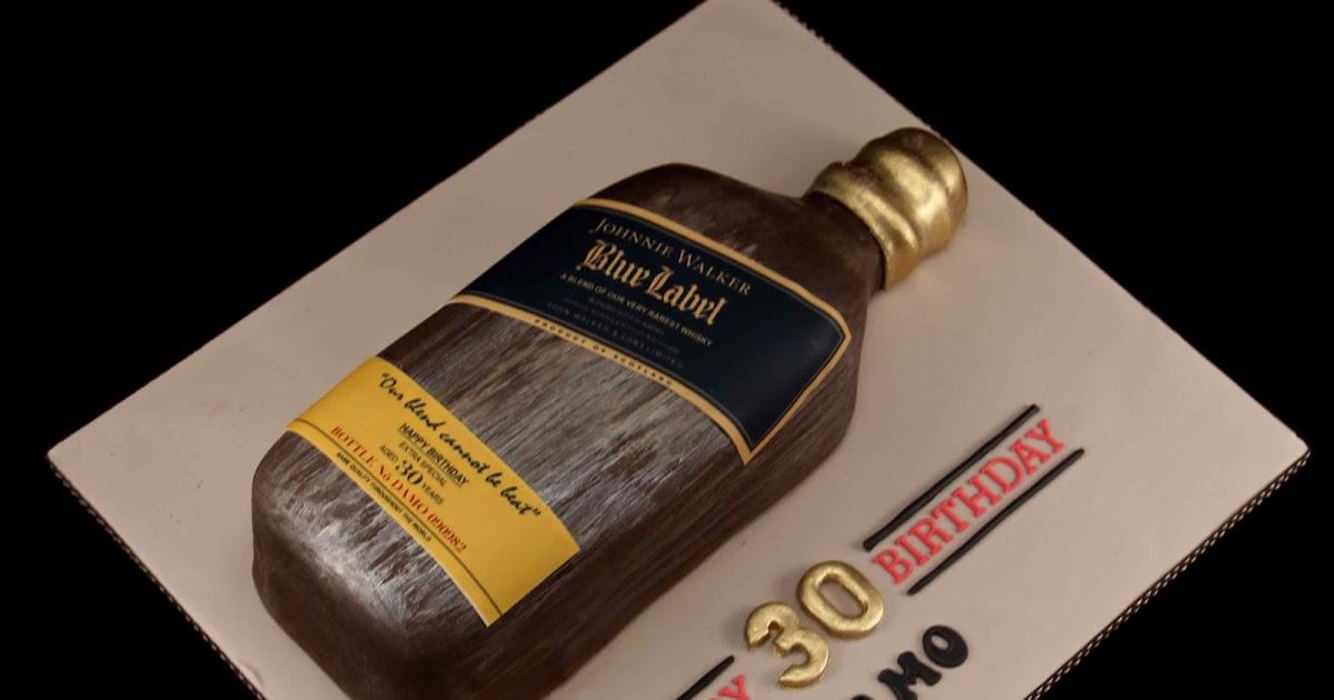 Bakerz Dad Johnnie Walker Blue Label Cake
