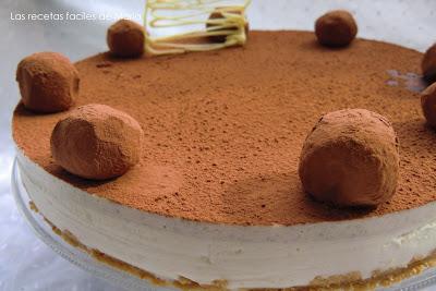 tarta de crema de castañas y mascarpone