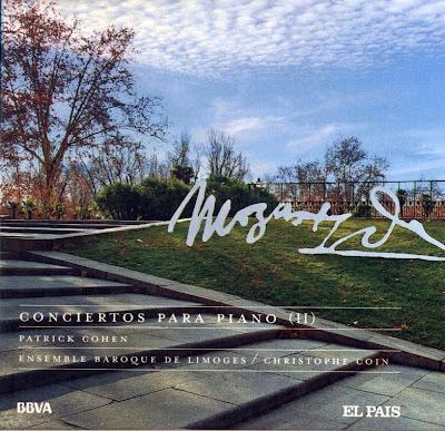 Mozart - Col. El País 250 Aniversario-(2006)-17-Conciertos para piano-2-carátula frontal