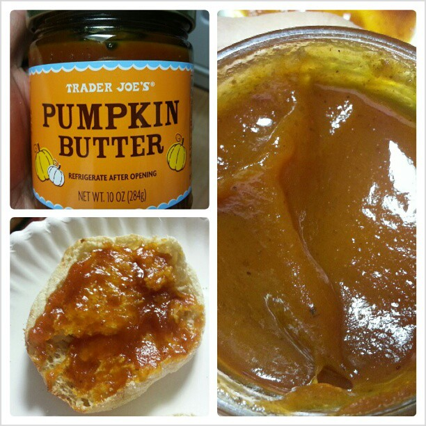 Ah, Pumpkin Butter – the greatest thing I've eaten in awhile.