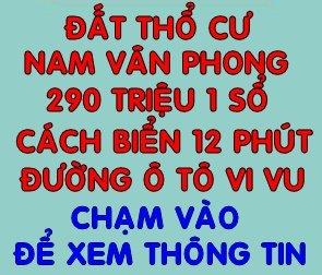 ĐẤT THỔ NAM VÂN PHONG