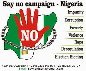 SAY NO CAMPAIGN-NIGERIA