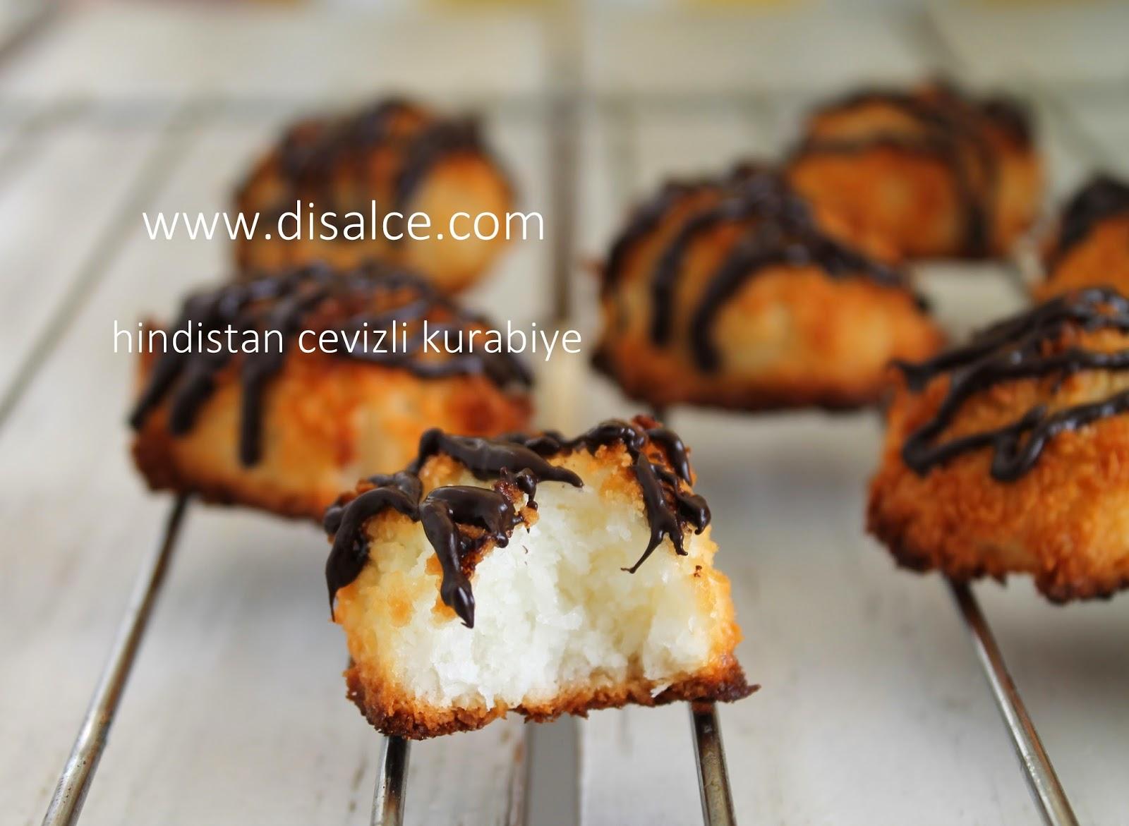 hindistan cevizi kurabiyesi