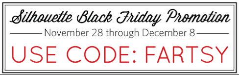 Silhouette Black Friday Promo at artsyfartsymama.com #Silhouette