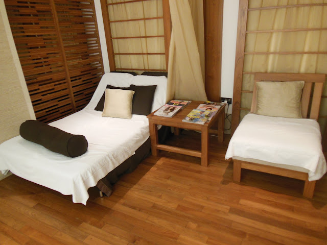 Ajala Spa relaxation room