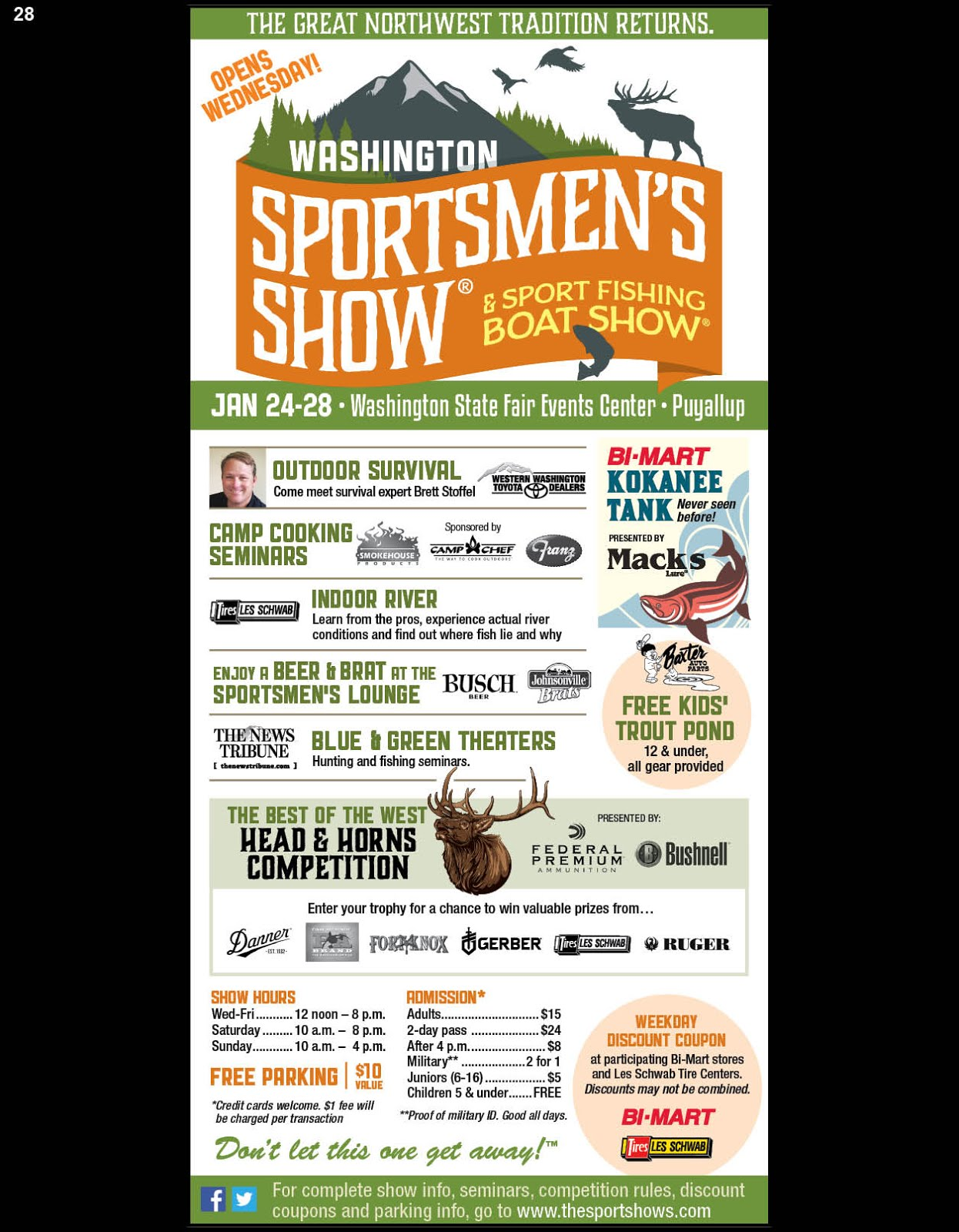 NW Sportsmen's Show & Sport Fishing Boat Show!!
