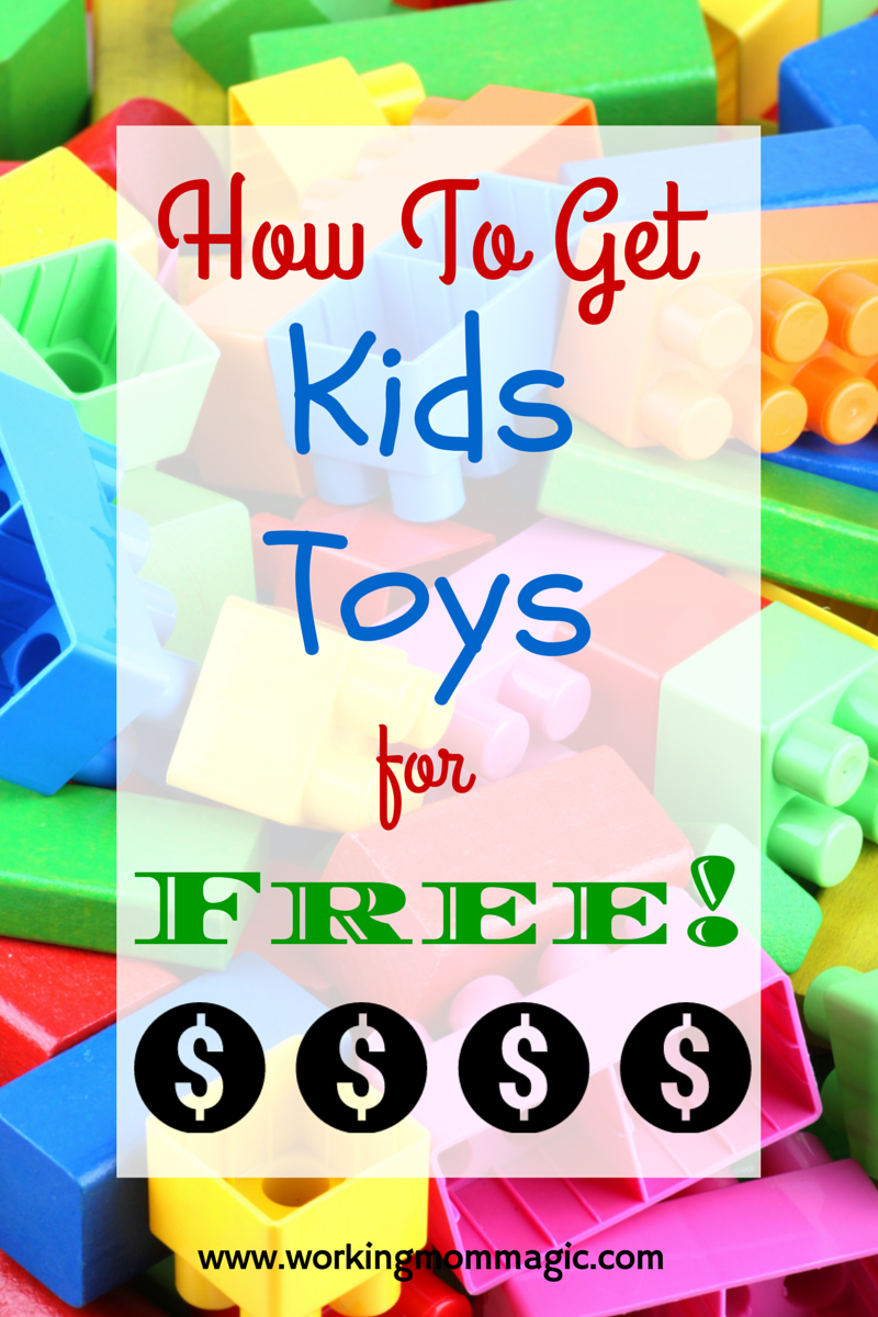 Get Kids Toys for free
