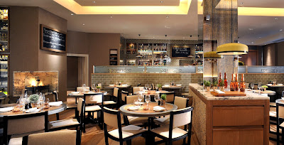 Interior of Cassis Bistro, 232-236 Brompton Road, London SW3 2BB