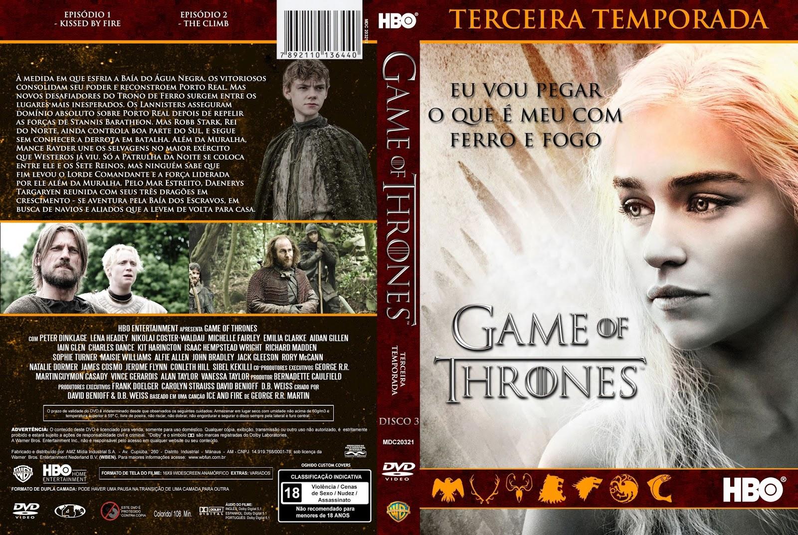 Resultado de imagem para Game of Thrones – 3ª Temporada