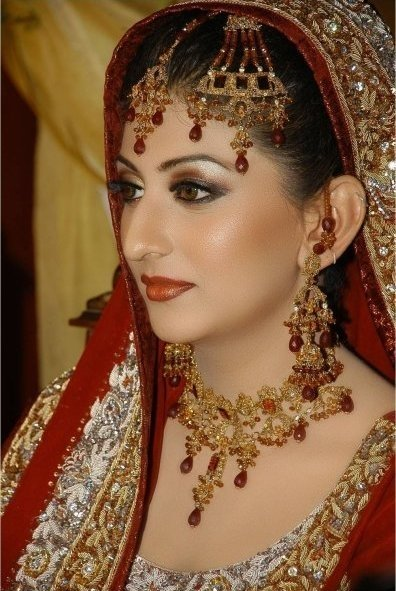 Women-Indian(North and South) Bridal Makeup Tutorial and Bridal Wears