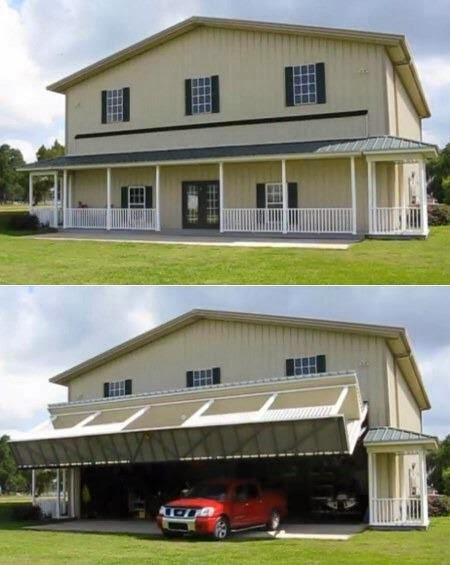 Garasi Rumah Paling Keren yang Pernah Aku Lihat