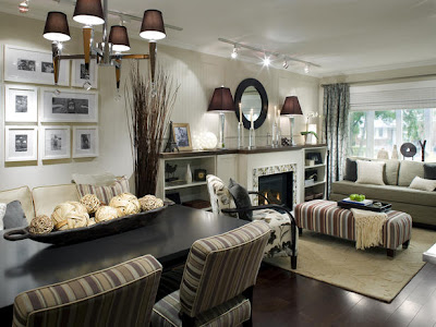 Decorating Living Room  Fireplace on Fireplace Decorating Design Ideas 2011 From Candice Olson