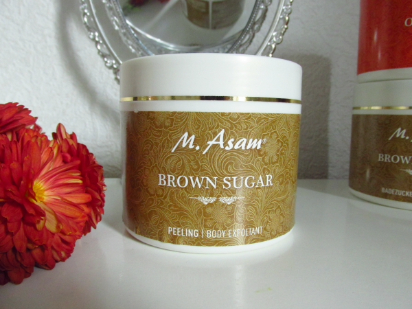 M.Asam Brown Sugar Peeling / Body Exfoliant - 600g - 23.50 Euro
