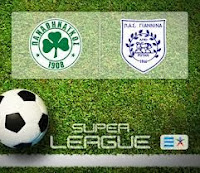 Panathinaikos - Pas Giannina - Παναθηναικός - ΠΑΣ Γιάννινα 15:00 Livestreaming