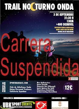Carrera suspendida
