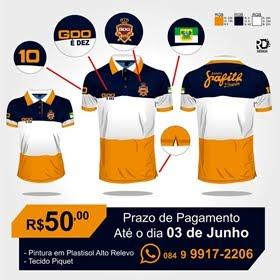 CAMISA DO FÃ CLUB GDO 10 ANOS