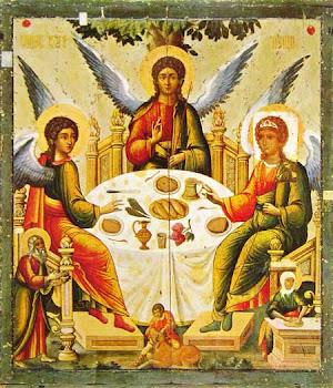 Sfantul Avraam si Domnul