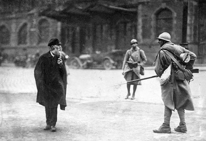 French occupation Ruhr 1923