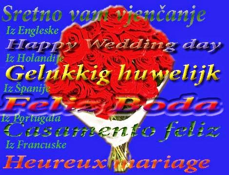 sretno vjenčanje