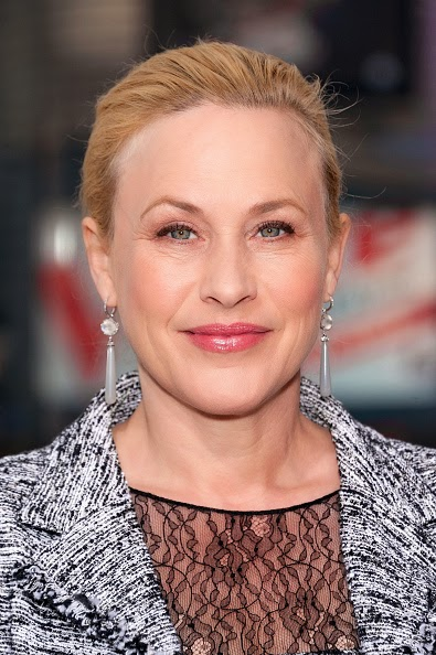 Patricia Arquette wore Andi Alyse jewelry while filming EXTRA and The View