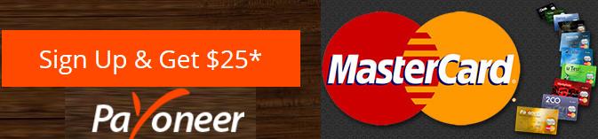 Get Free International Master Card Along with 25 Doller Bonus