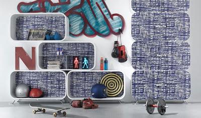 Estantes creativos para la Pared del Dormitorio de una Niña