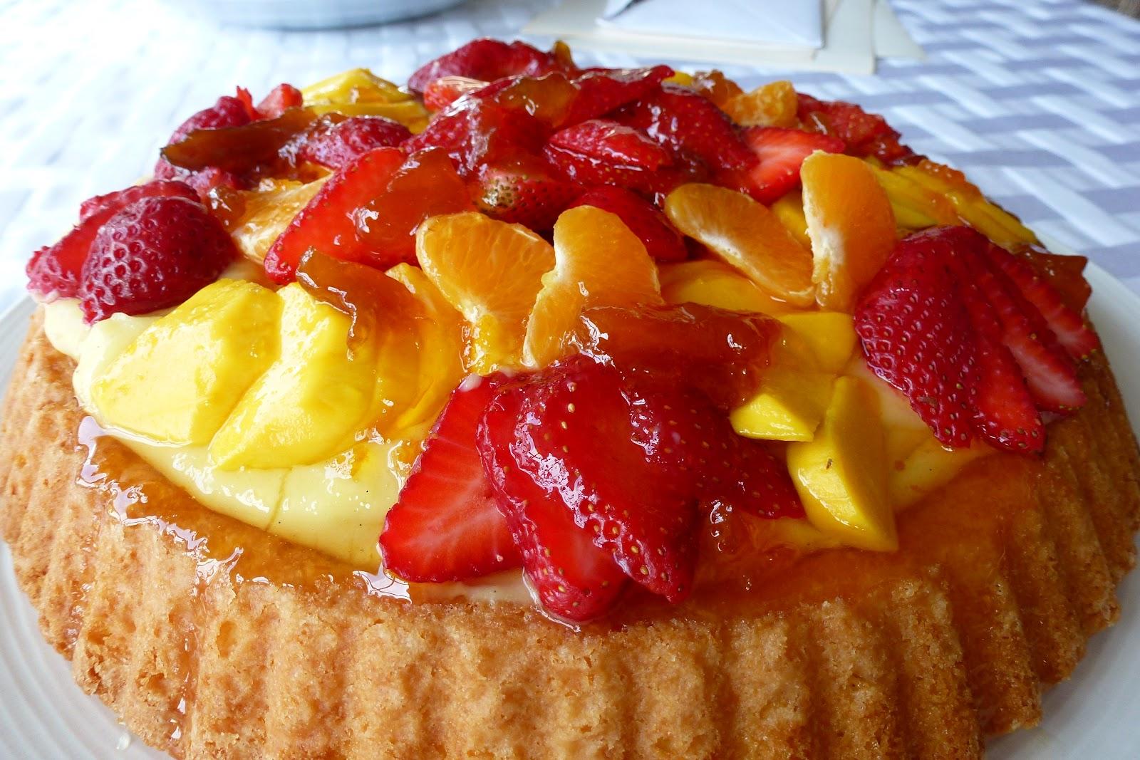 Easy sponge cake fillings recipe