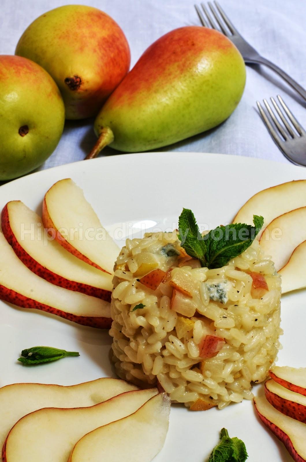 hiperica_lady_boheme_blog_cucina_ricette_gustose_facili_veloci_risotto_alle_pere_e_gorgonzola_2