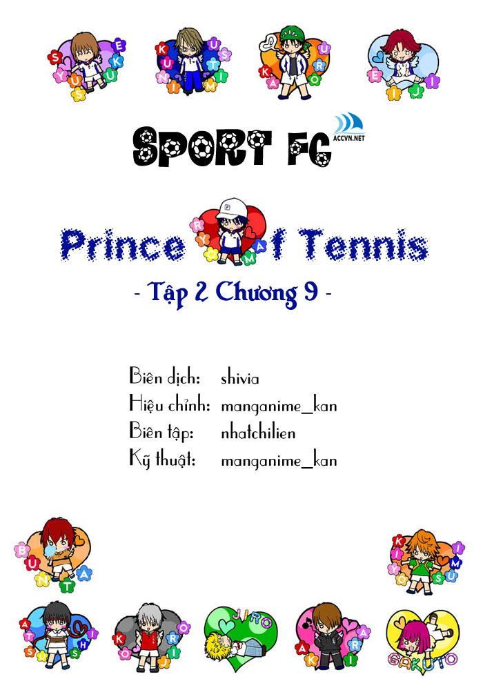 Prince of Tennis chap 9 Trang 1