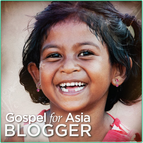I am a Gospel for Asia Blogger
