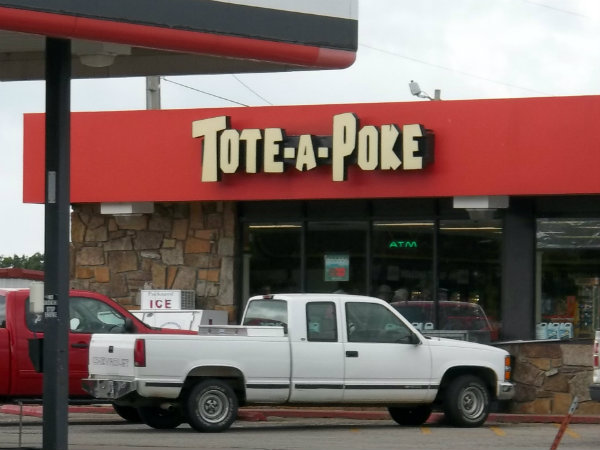 Tote-A-Poke, Heavener, OK, storefront