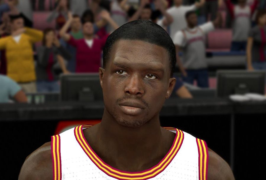 NBA 2K14 Realistic Luol Deng Face Patch