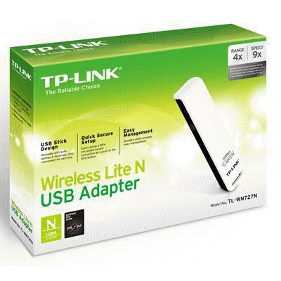 Tl-wn727n | 150mbps wireless n usb adapter | tp-link lebanon.