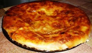 Слоеный пирог с картофелем и сыром