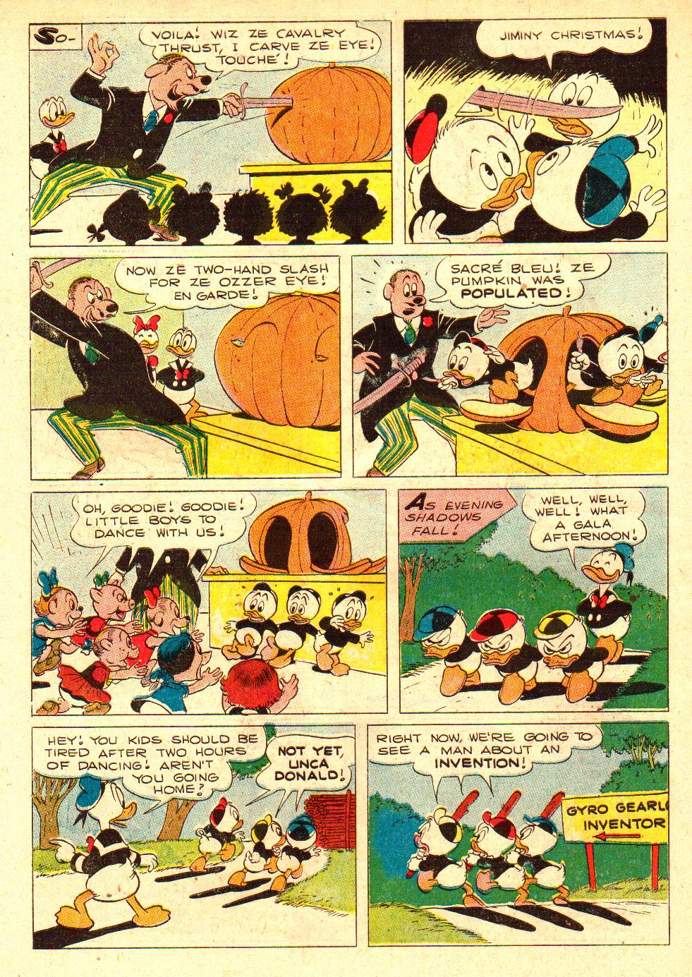 Read online Walt Disney's Donald Duck (1952) comic -  Issue #26 - 34