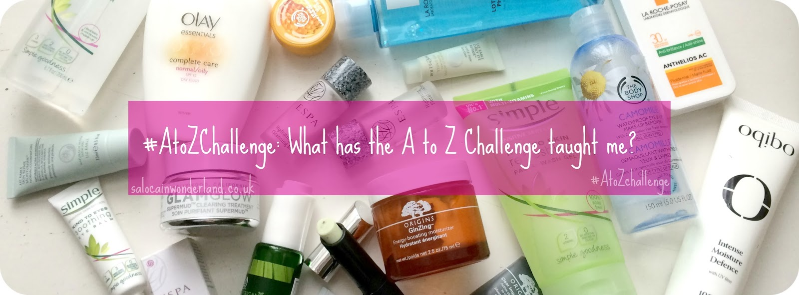what is the a to z blogging challenge