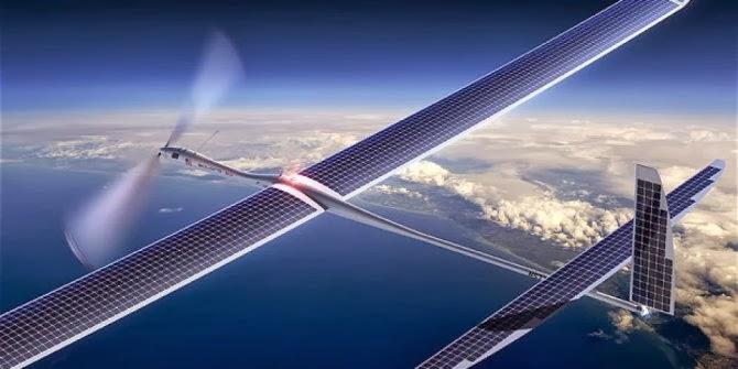 Pesawat pembawa internet gratis
