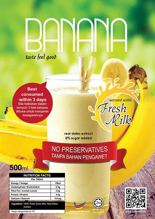 Banana Milk Juice