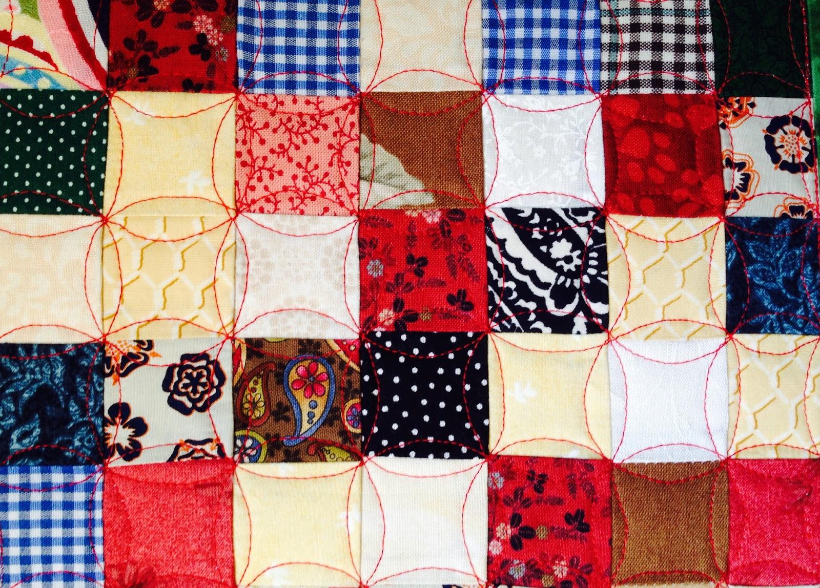 Как сшить одеяло из квадратиков своими руками 64