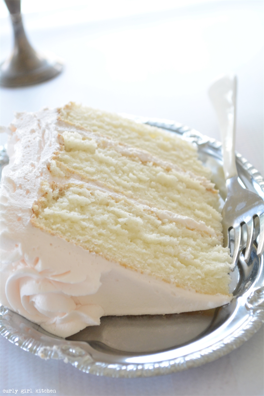 Curly Girl Kitchen White Cake