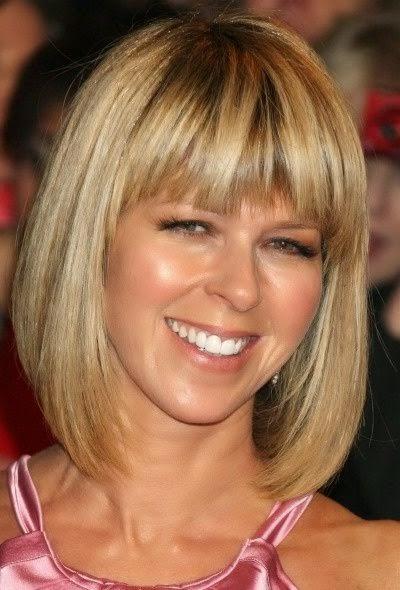 Kapsels Halflang Haar Blond