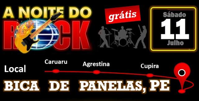 1ª Noite do Rock em Panelas