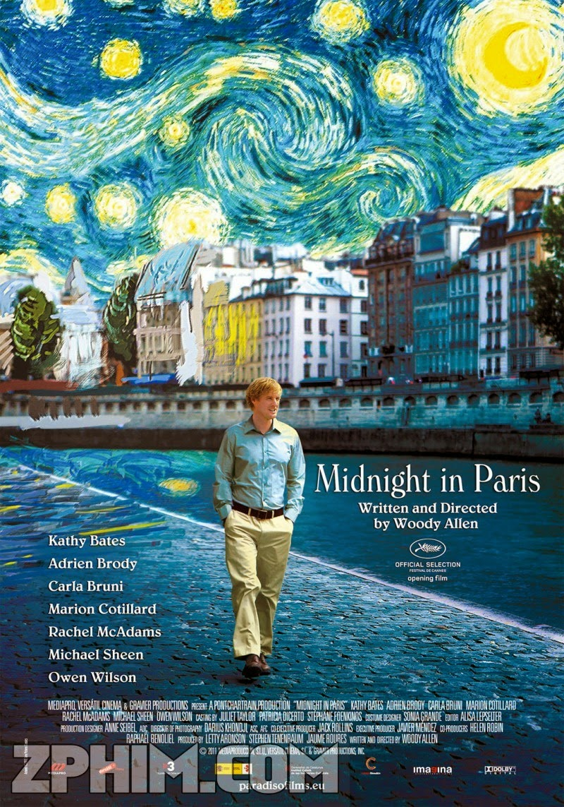 Nửa Đêm Ở Pari - Midnight In Paris (2011) Poster